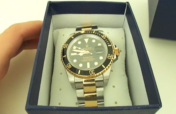 Replica Rolex Submariner Two-Tone Horloge