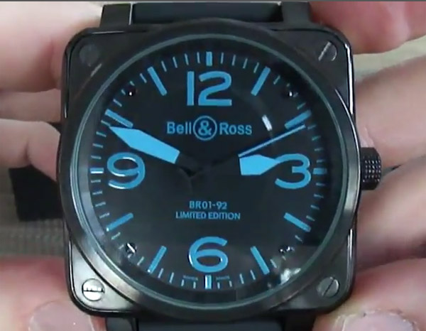 Bell & Ross Carbon Replica horloge