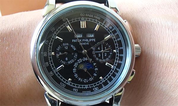 Patek Philippe Perpetual Chronograph replica horloge