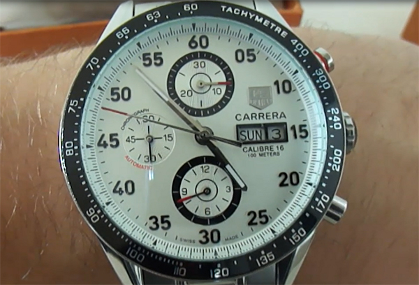 Tag Heuer Carrera Calibre 16 Day-Date Replica horloges