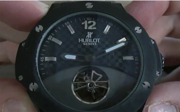 Hublot Big Bang Tourbillon Replica horloge
