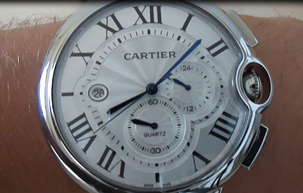 Cartier Ballon Bleu XL replica horloge