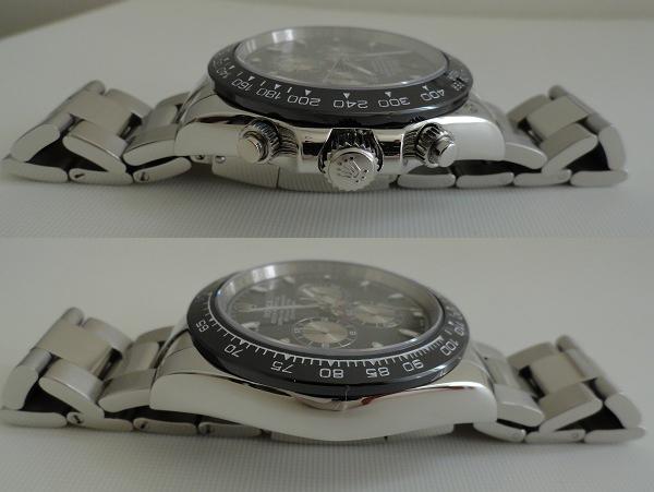 Nep Rolex Daytona Zwarte Wijzerplaat