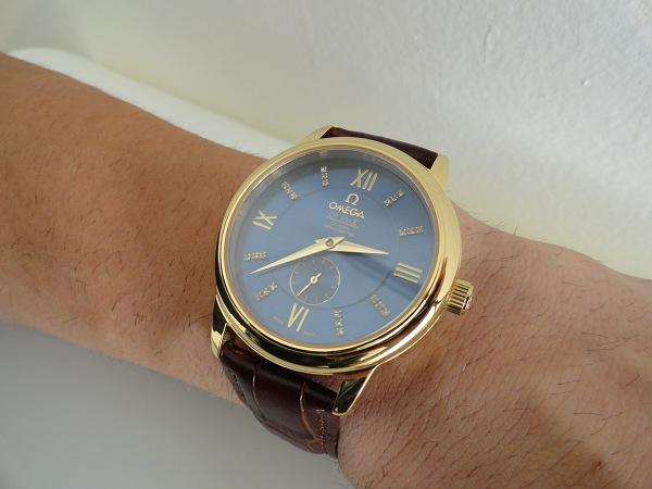 HorlogesReplica-Omega-DeVille-Geel-Gouden-Replica-Horloge