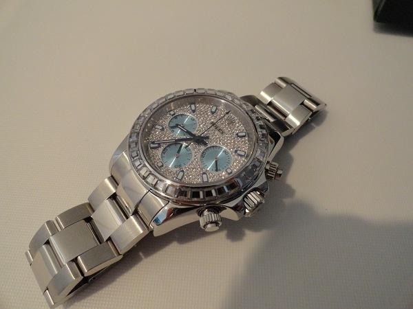 Rolex Daytona Diamonds Replica Horloge Foto Beoordeling