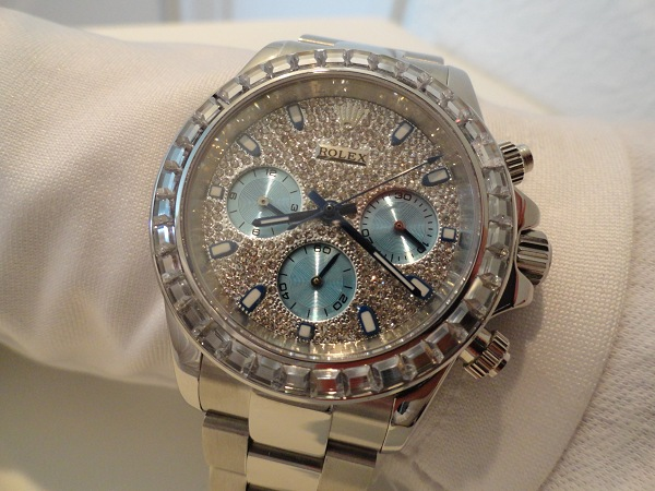 Rolex Daytona Diamonds Replica Horloges
