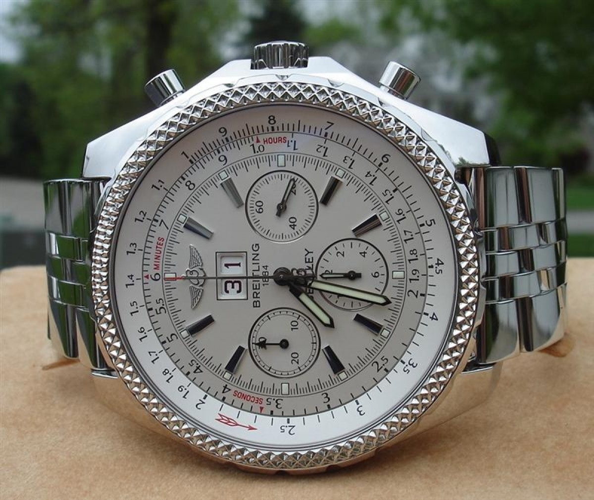 Breitling Bentley 6.75 Replica Horloges