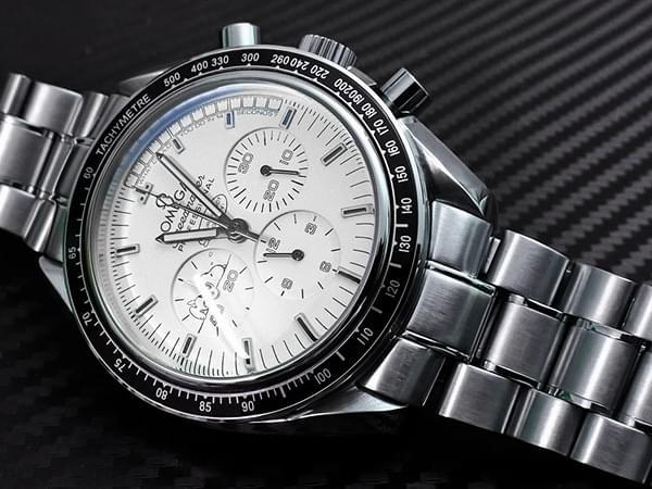 Replica Omega Speedmaster Moonwatch Roestvrij Stalen Armband